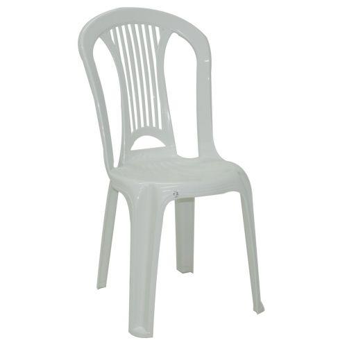 Cadeira Atlântida Basic Economy sem Braços em Polipropileno Branco 92013/010 - Tramontina