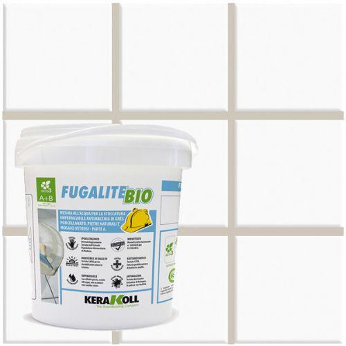 Rejunte Kerakoll Fugalite Bio 03-CINZA PÉROLA 1,5kg