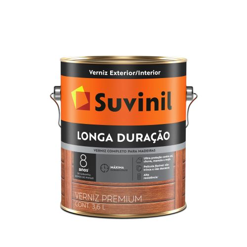 Verniz Longa Duração Galão 3,6L - Suvinil