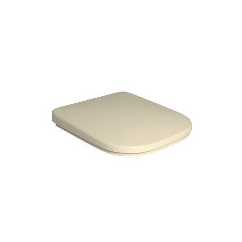 Assento Plástico com Slowclose Quadra Creme AP.215.37 - Deca