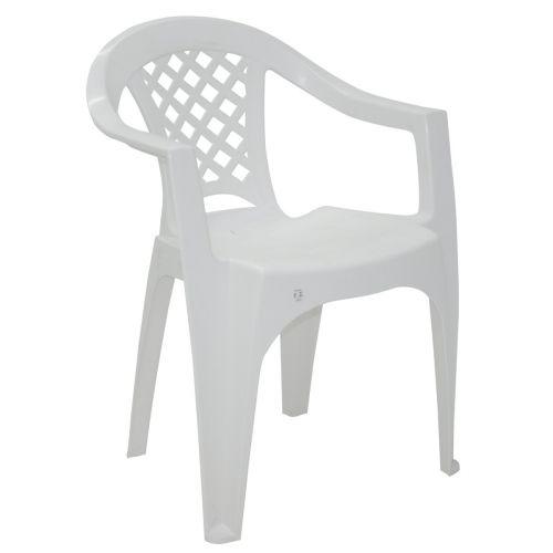 Cadeira Iguape Com Braços Branca 92221010 - Tramontina