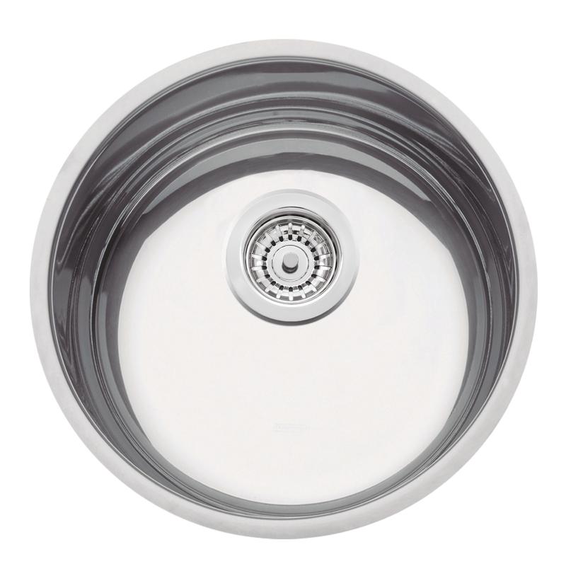 Cuba de embutir Luna 35 BL em Aço Inox Alto Brilho 35 cm 94012/202 - Tramontina