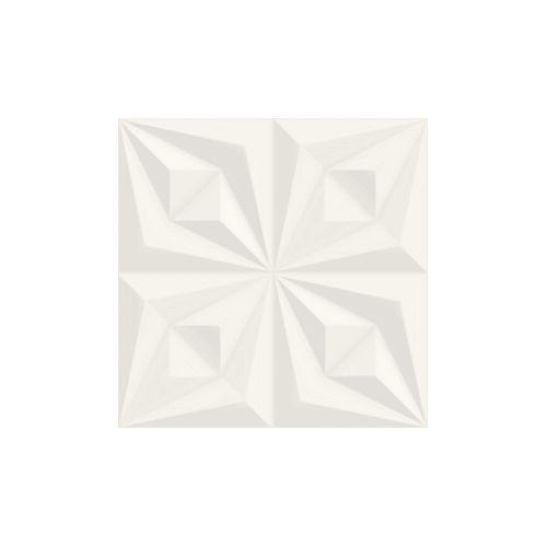Revestimento Ceusa Drapeado Branco Ref 66071 58x58