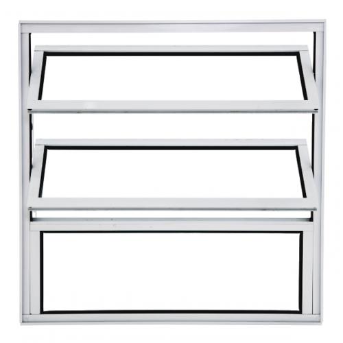Vitrô Basculante 1 Seção Branco Boldie 60x60 - Prado Esquadrias