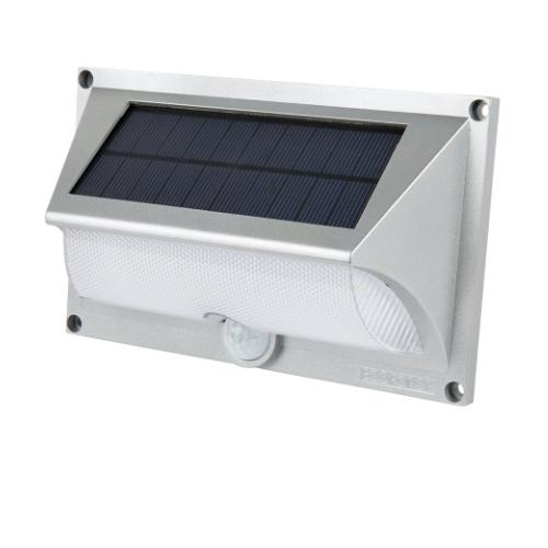 Arandela Solar EcoForce ABS c/ Sensor de presença 17151