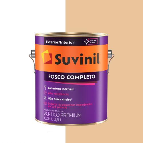 Tinta Acrílica Fosco Completo Mel Galão - Suvinil