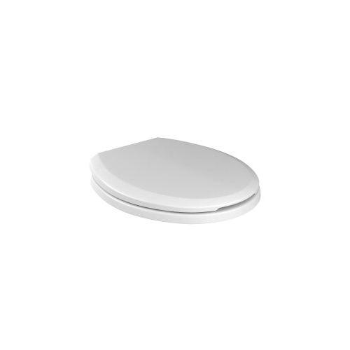 Assento Plástico com Slowclose Targa/Izy/Ravena/Studio Branco Gelo AP.165.17 - Deca