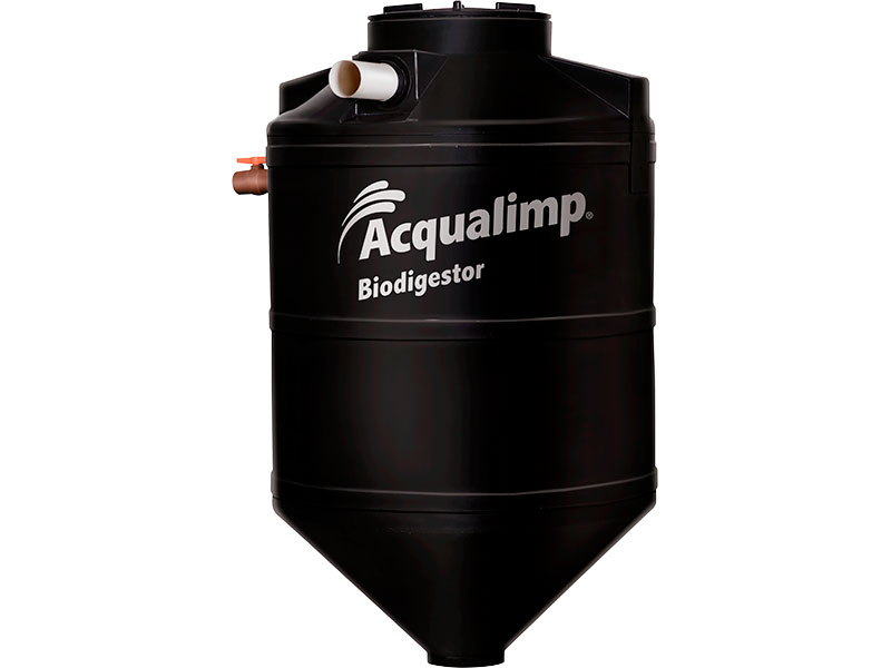 Biodigestor 1.300 Litros - Acqualimp