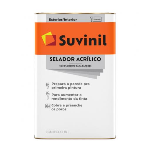 Selador Acrílico 18 L - Suvinil