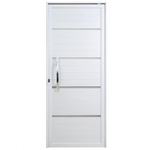 Porta Lambri Pivotante Com Puxador e Friso Esquerda Boldie 1.00m x 2.15m - Prado Esquadrias