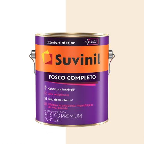 Tinta Acrílica Fosco Completo Pérola Galão - Suvinil