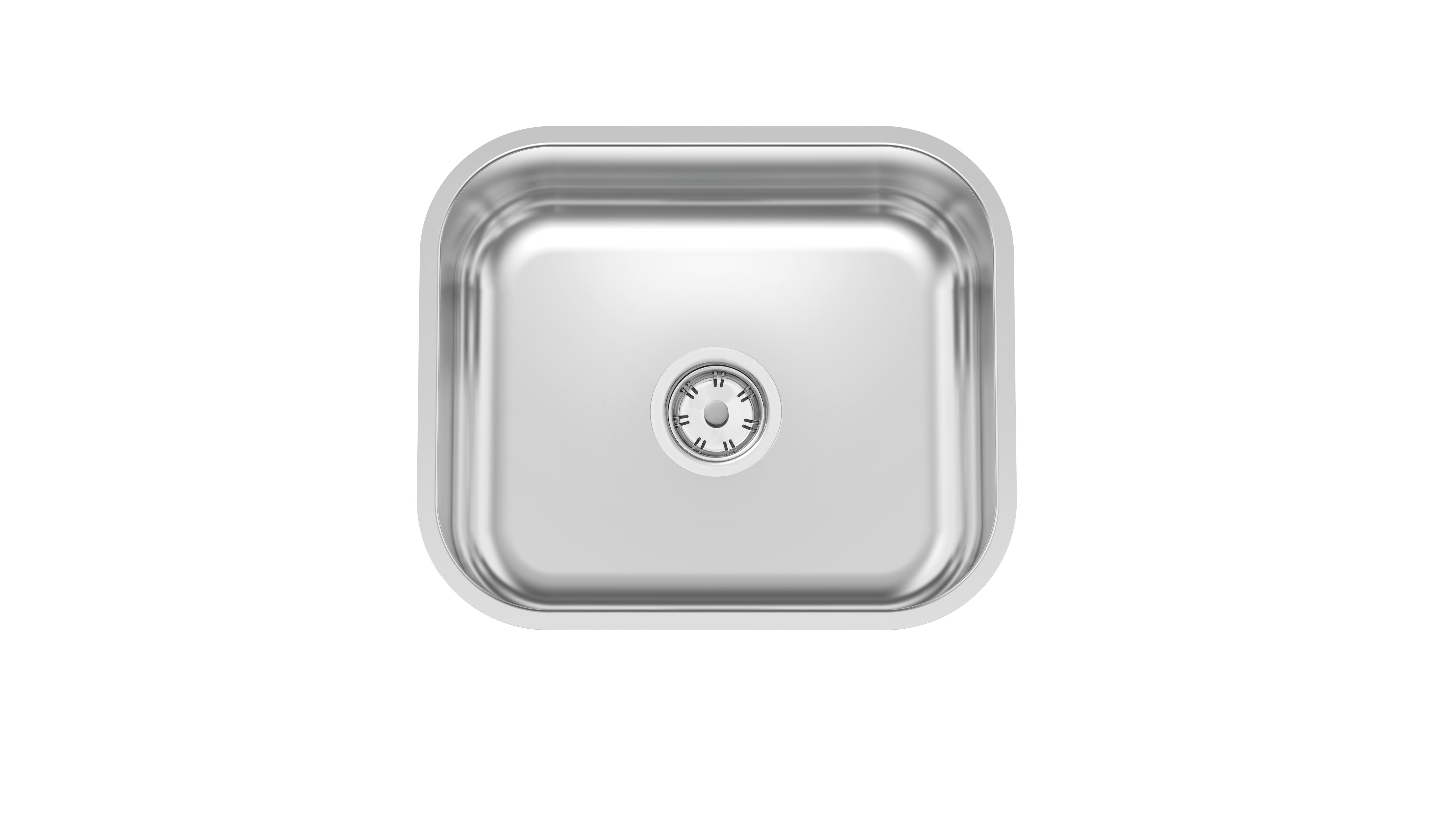 Cuba de embutir Lavínia 40 BL em Aço Inox Polido 40x34 cm 94081/507 - Tramontina