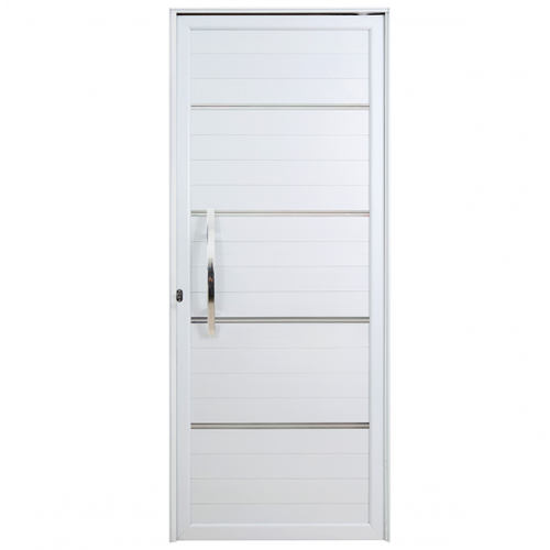 Porta Lambri Pivotante Com Puxador e Friso Direita Boldie 1.00m x 2.15m - Prado Esquadrias
