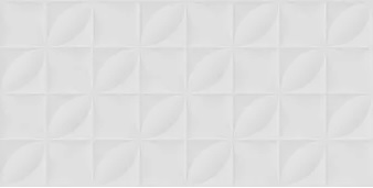 Revestimento Lume Hd Botânico Branco Mate Acetinado Retificado 45X90