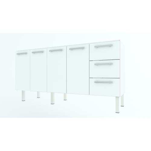 Gabinete de Aço Cozimax Vênus 1.80 metros Branco