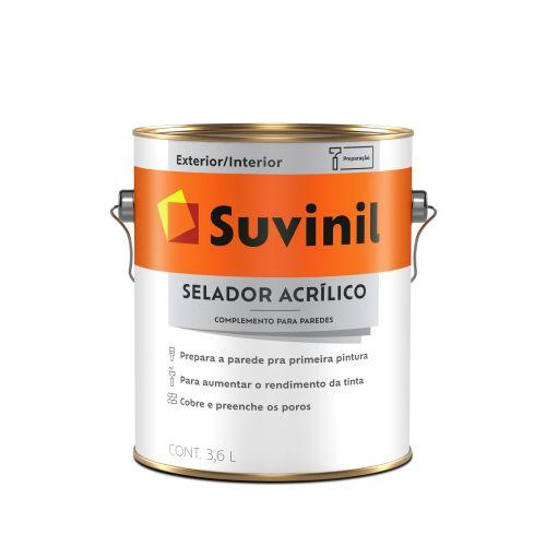 Selador Acrílico Galão 3,6L - Suvinil